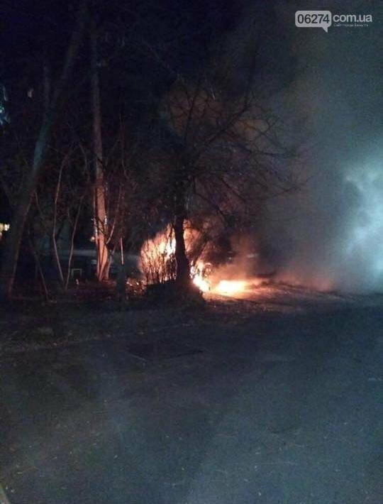 Полиция прокомментировала возгорание иномарки в Бахмуте, фото-1