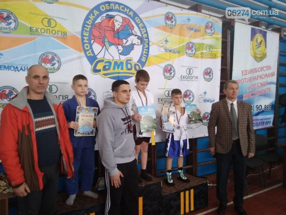 Бахмутчане стали призерами областного чемпионата по самбо, фото-2