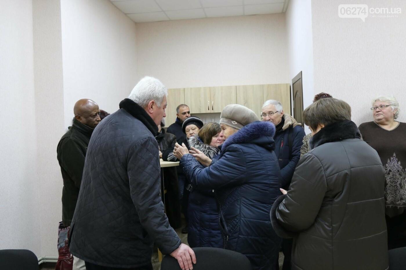 В Бахмуте открыли обновленное помещение комитета микрорайона «Цветмет», фото-10