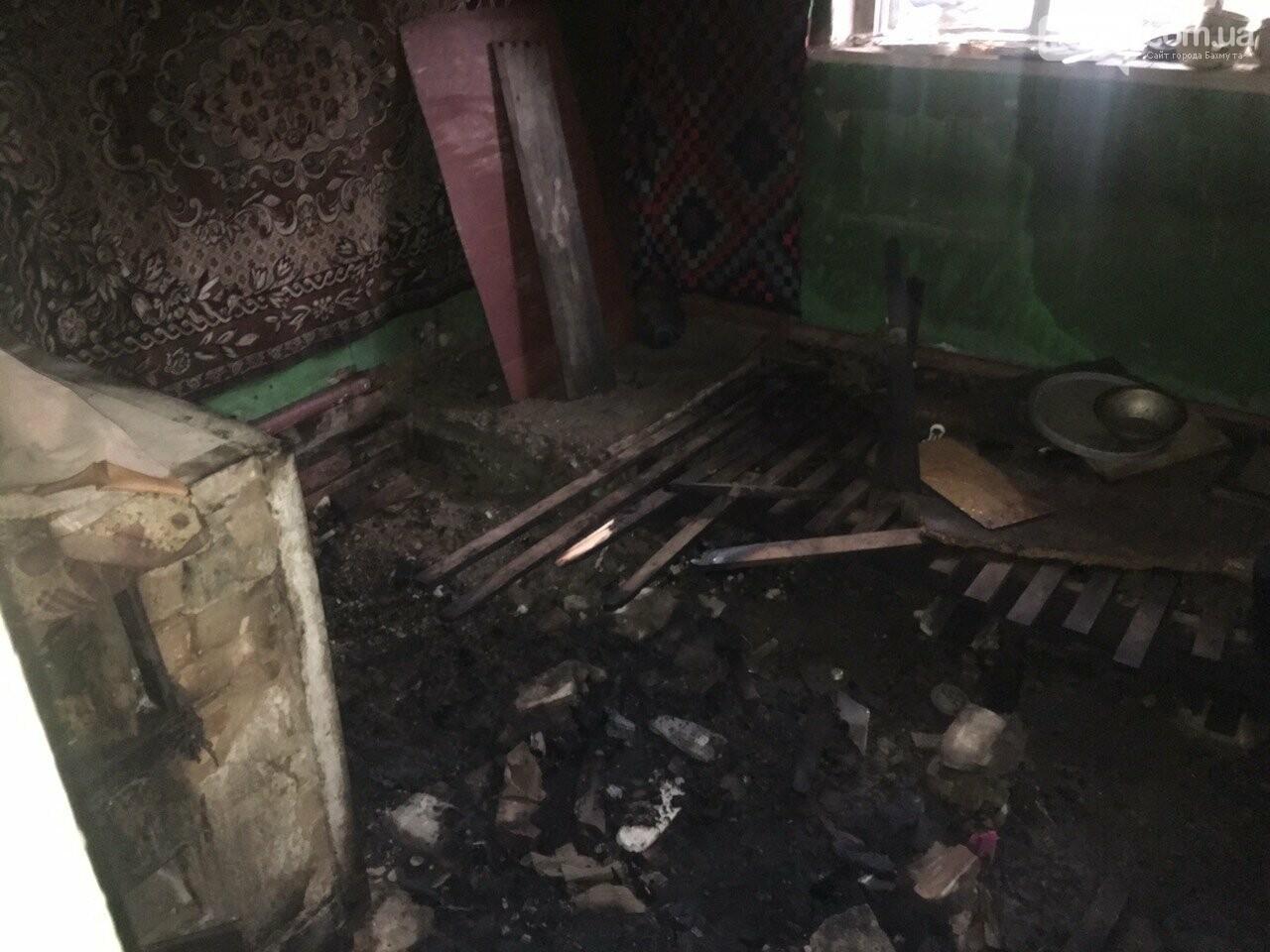 В Бахмуте на пожаре обнаружили тело погибшего мужчины, фото-2