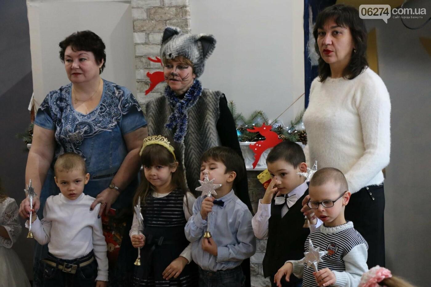 Святой Николай поздравил детей Бахмута, фото-9