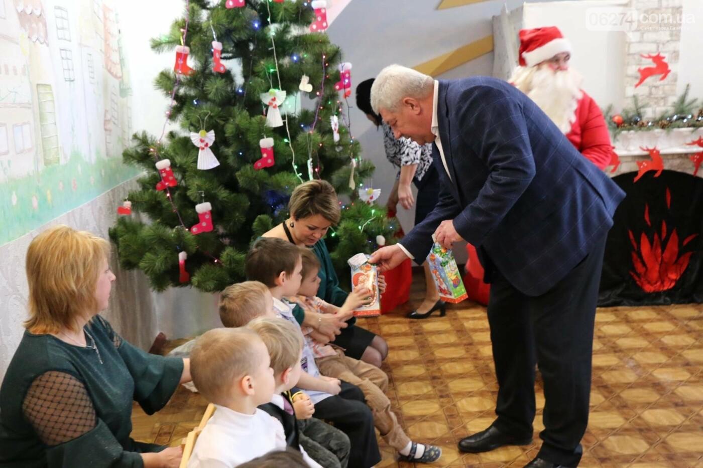 Святой Николай поздравил детей Бахмута, фото-11