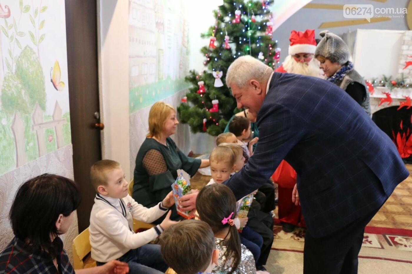 Святой Николай поздравил детей Бахмута, фото-12