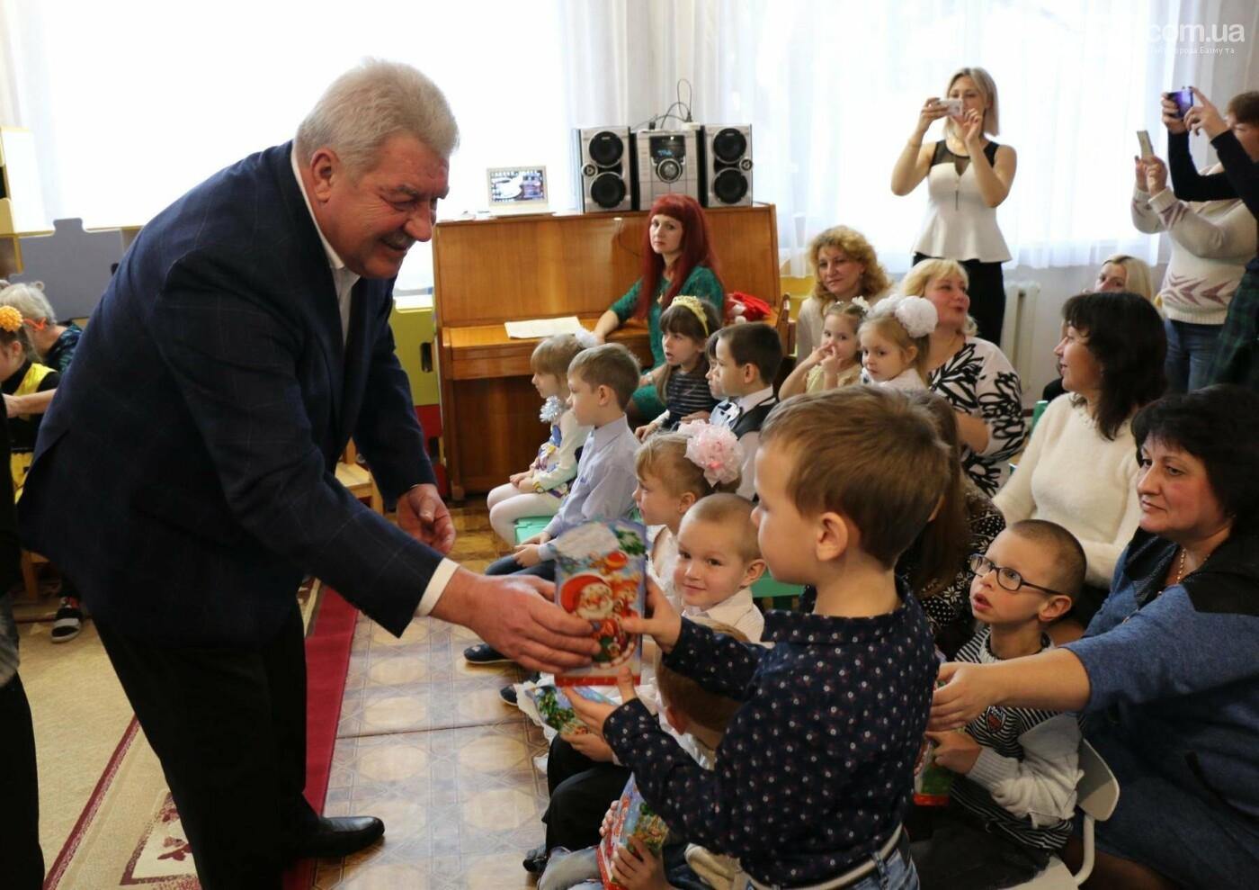 Святой Николай поздравил детей Бахмута, фото-13