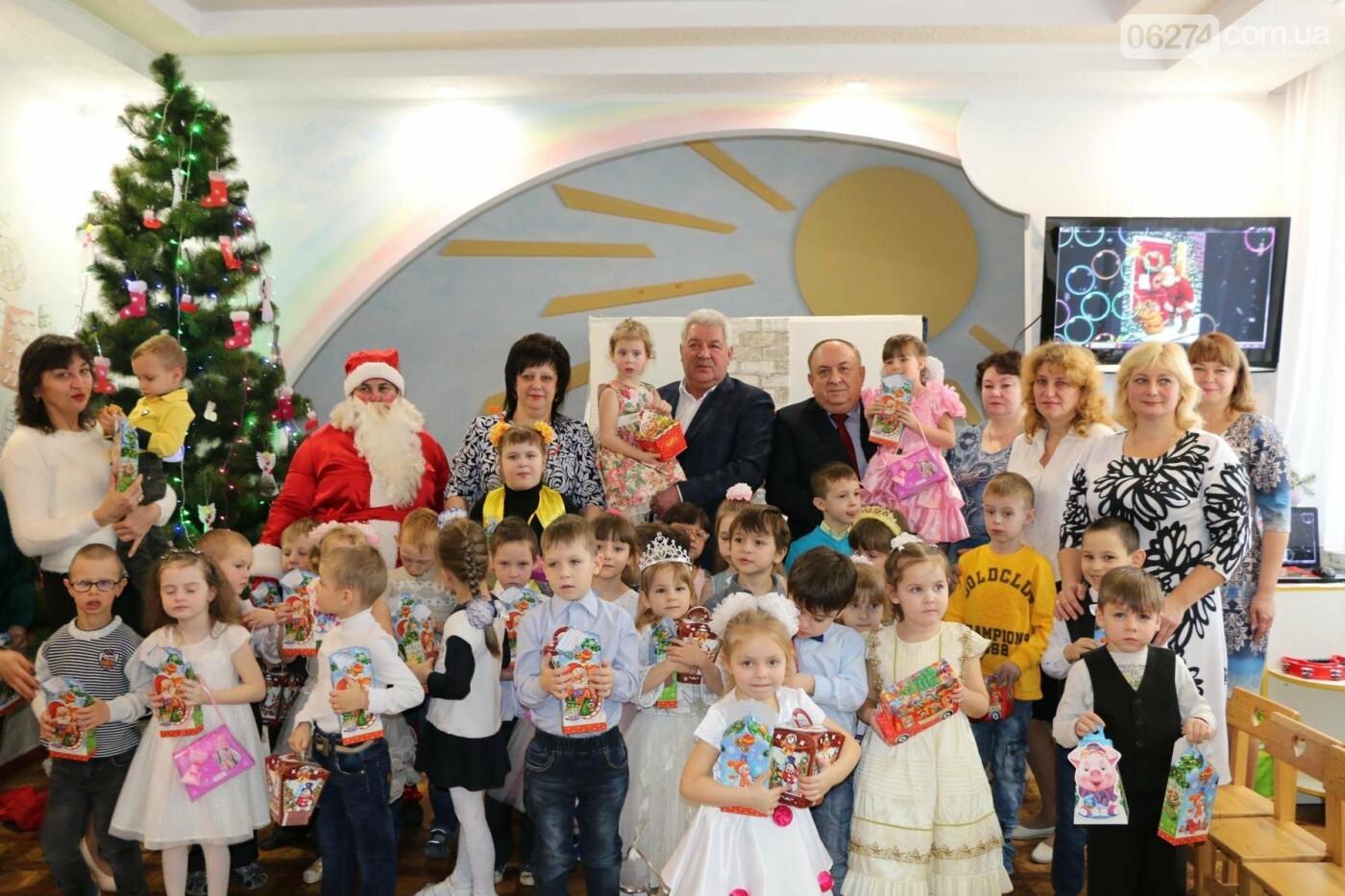 Святой Николай поздравил детей Бахмута, фото-17