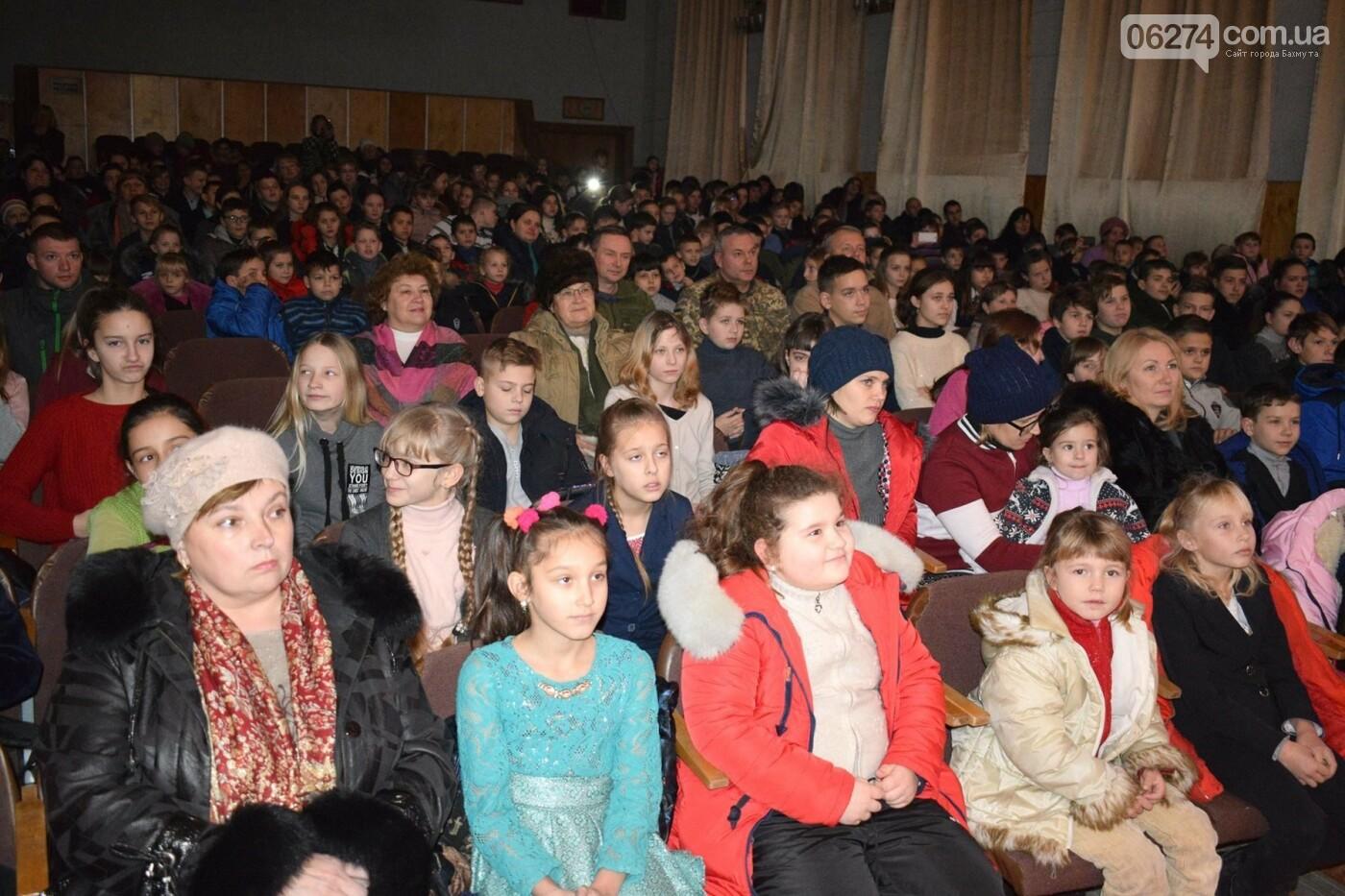 Командующий ООС поздравил детей Бахмутского района с Днем Святого Николая, фото-3