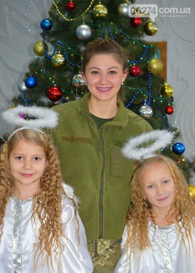 Командующий ООС поздравил детей Бахмутского района с Днем Святого Николая, фото-6