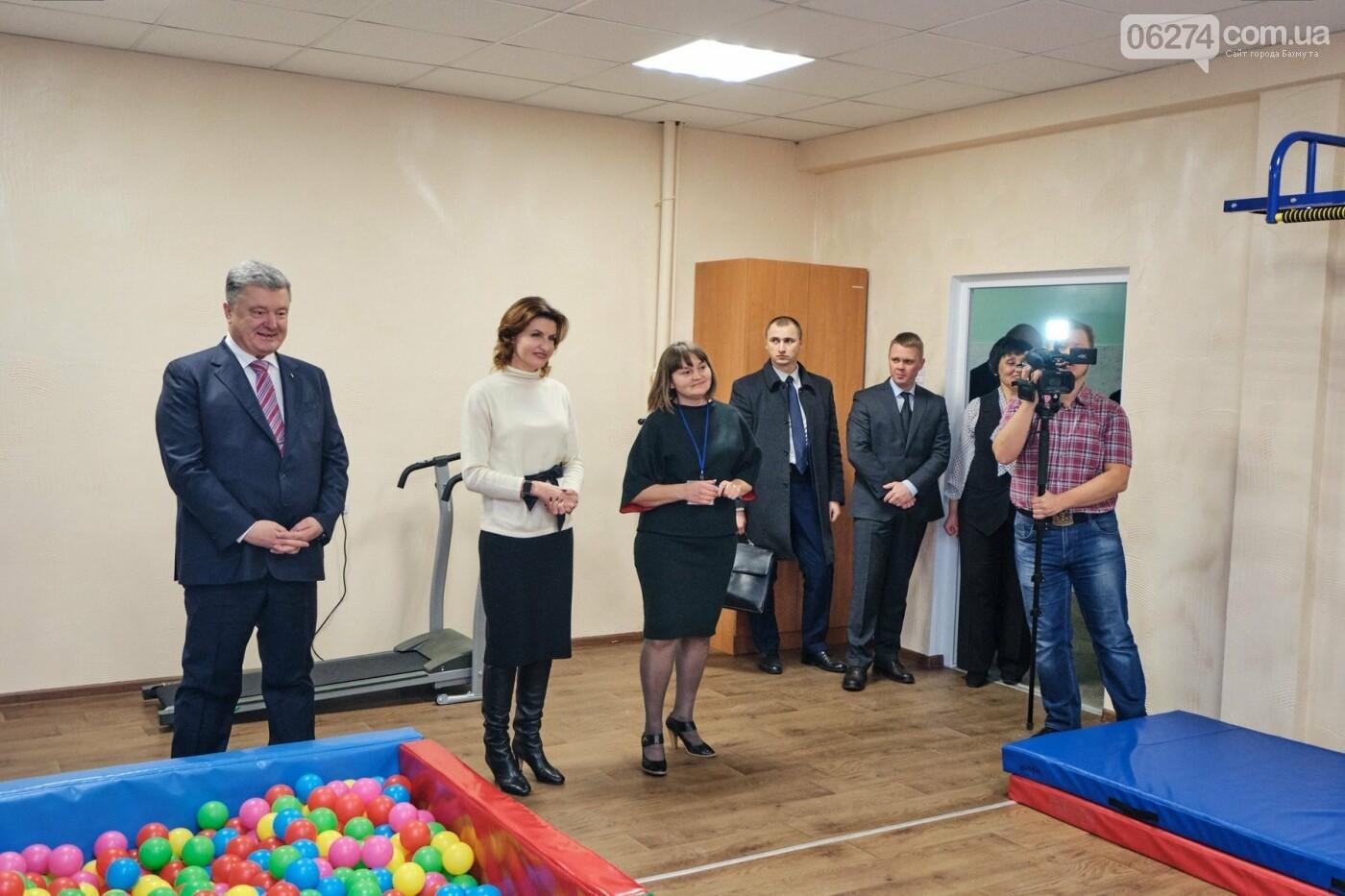 Президент Украины Петр Порошенко посетил Бахмут (ДОБАВЛЕНО ФОТО), фото-14