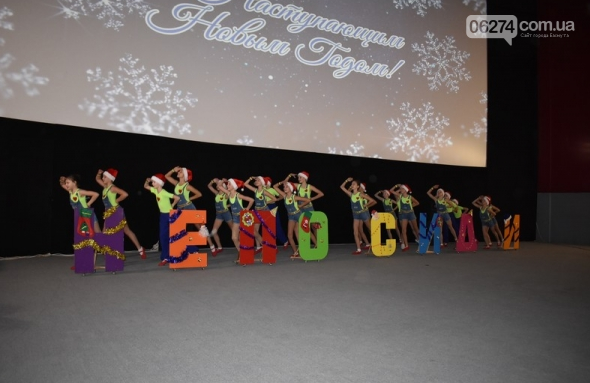 Одаренных детей Бахмута поздравили с новогодними праздниками, фото-7