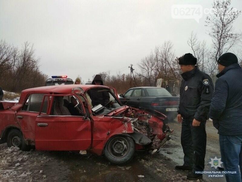 В результате аварии на трассе Бахмут - Константиновка пострадал мужчина, фото-1