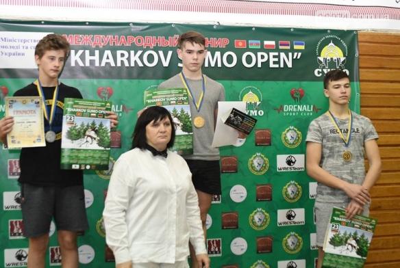 Сумоисты Бахмута завоевали более 20 медалей на «Kharkov Sumo Open», фото-2