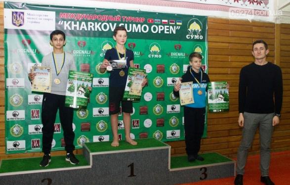 Сумоисты Бахмута завоевали более 20 медалей на «Kharkov Sumo Open», фото-1