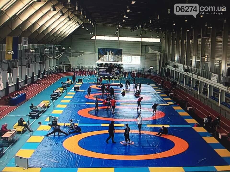 В Бахмуте проходит Чемпионат Украины по вольной борьбе, фото-2