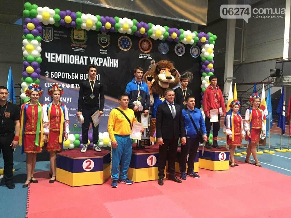 В Бахмуте проходит Чемпионат Украины по вольной борьбе, фото-5