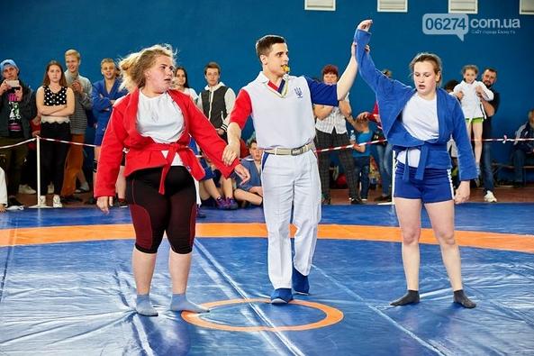 Бахмутские спортсмены завоевали первые места на Чемпионате области по самбо, фото-1
