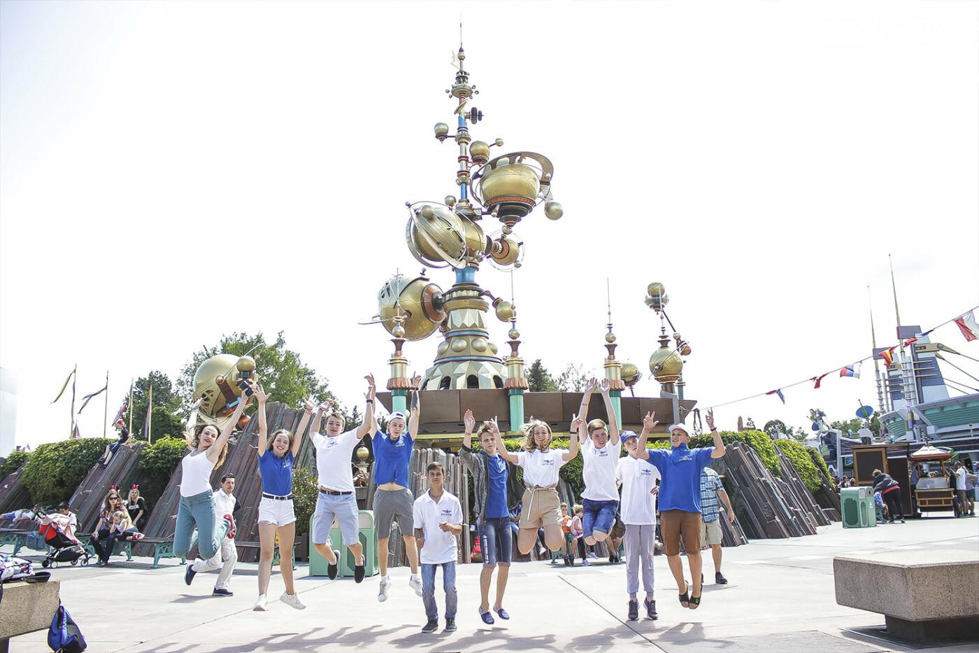 Призеры областных олимпиад Донбасса увидели Париж и отдохнули в Диснейленде, фото-5