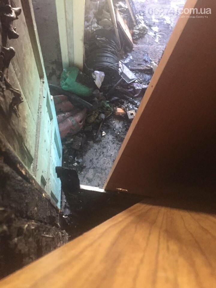 В Бахмуте в многоэтажке произошел пожар сразу в нескольких квартирах, фото-3