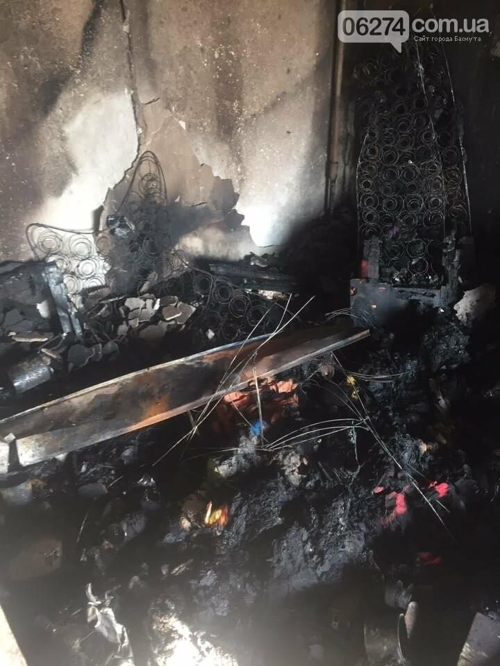 В Бахмуте в многоэтажке произошел пожар сразу в нескольких квартирах, фото-5