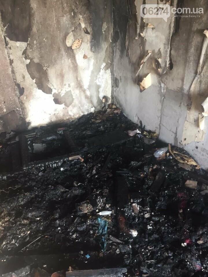 В Бахмуте в многоэтажке произошел пожар сразу в нескольких квартирах, фото-8