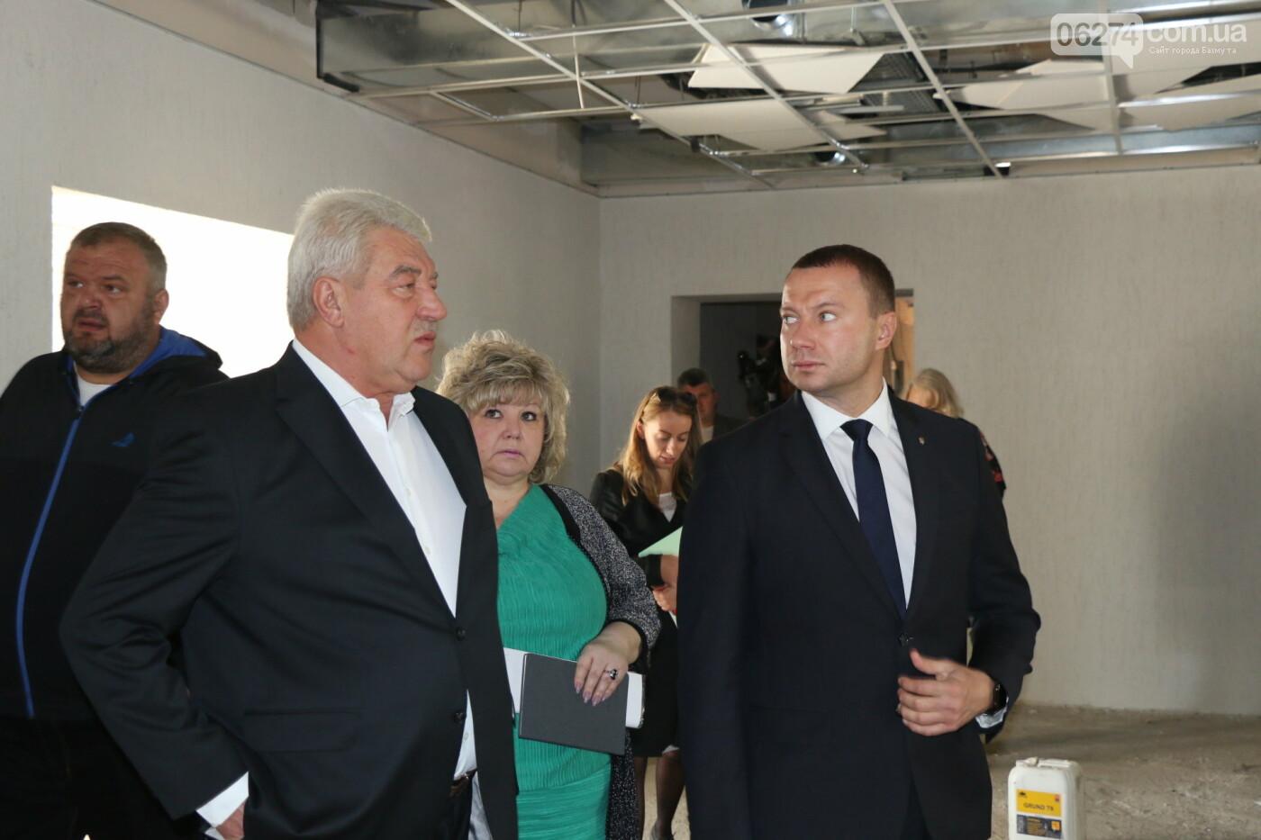 Бахмут с рабочей поездкой посетил Павел Кириленко, фото-8