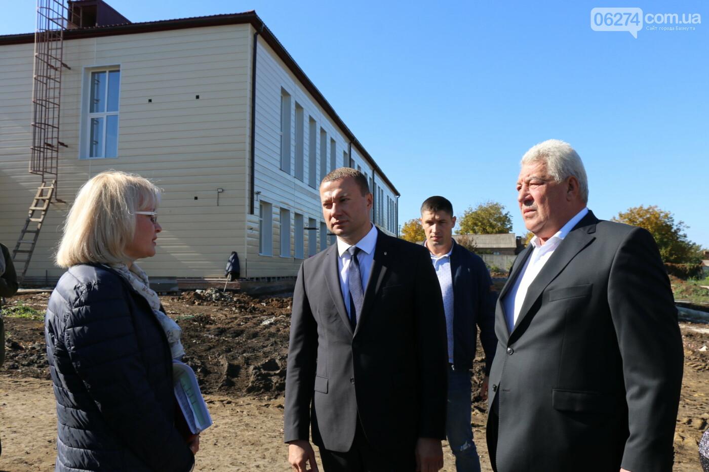 Бахмут с рабочей поездкой посетил Павел Кириленко, фото-5