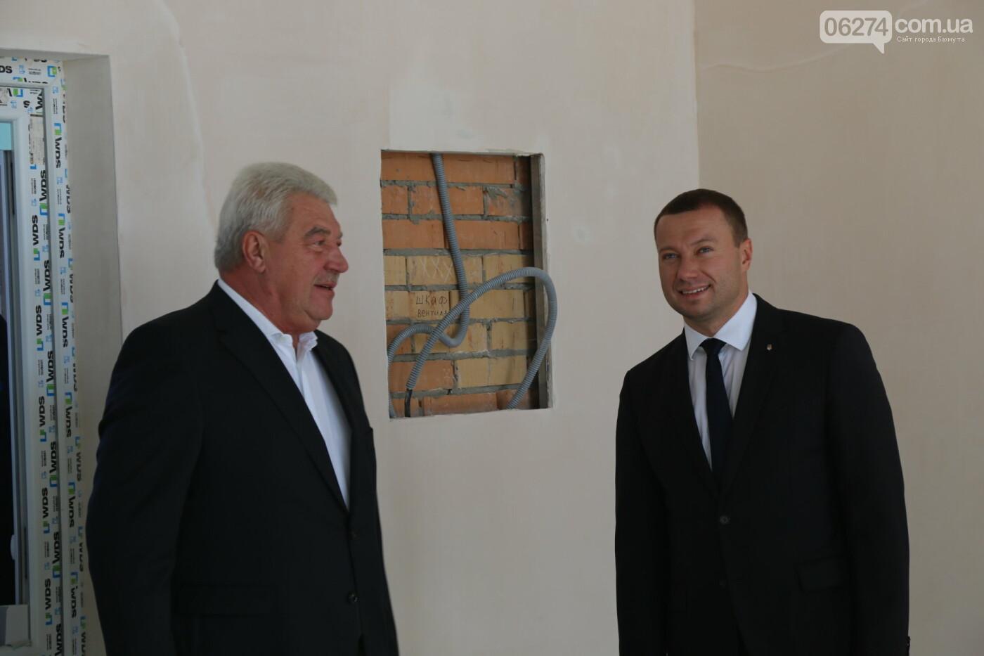 Бахмут с рабочей поездкой посетил Павел Кириленко, фото-10