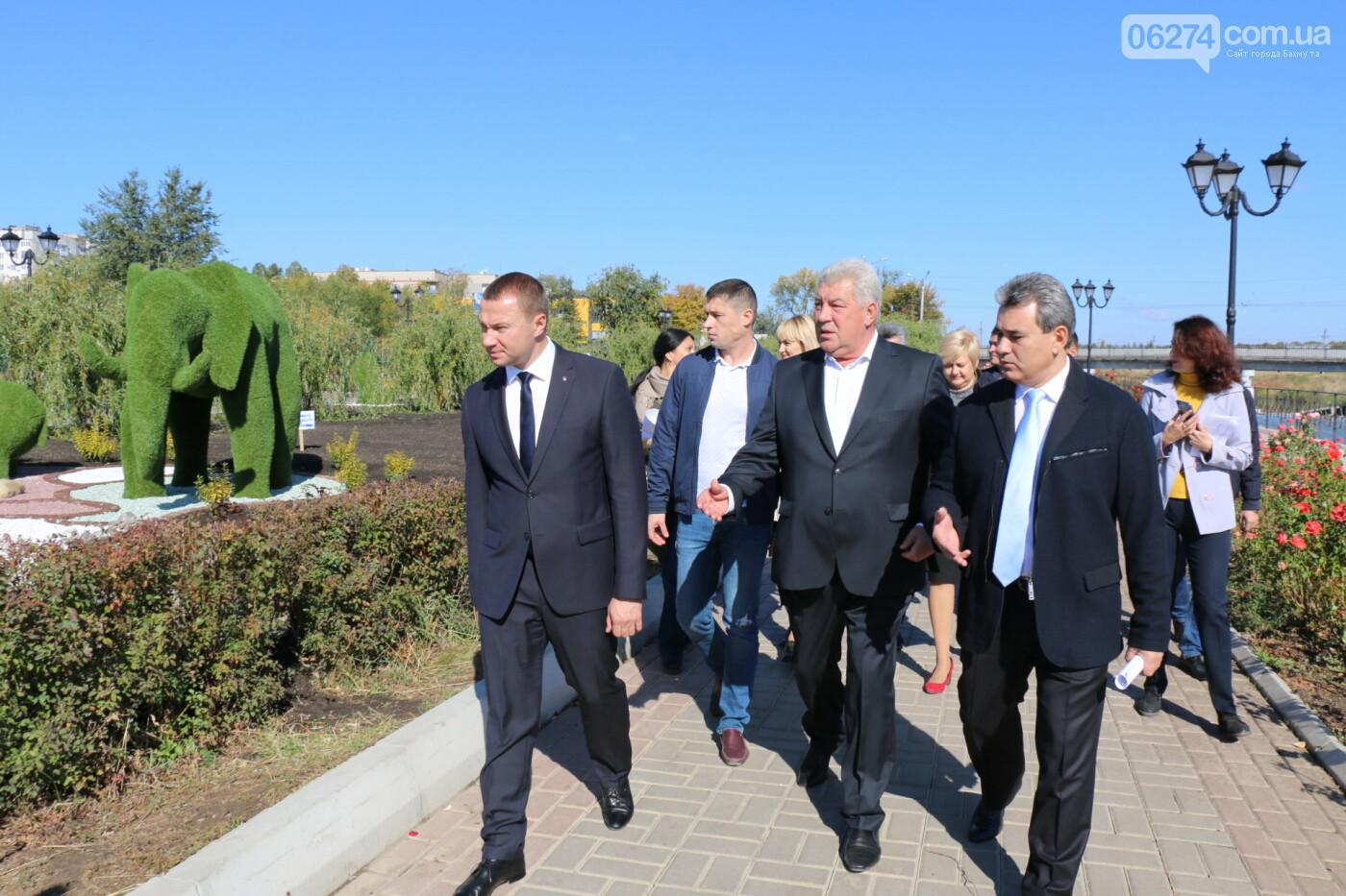 Бахмут с рабочей поездкой посетил Павел Кириленко, фото-19