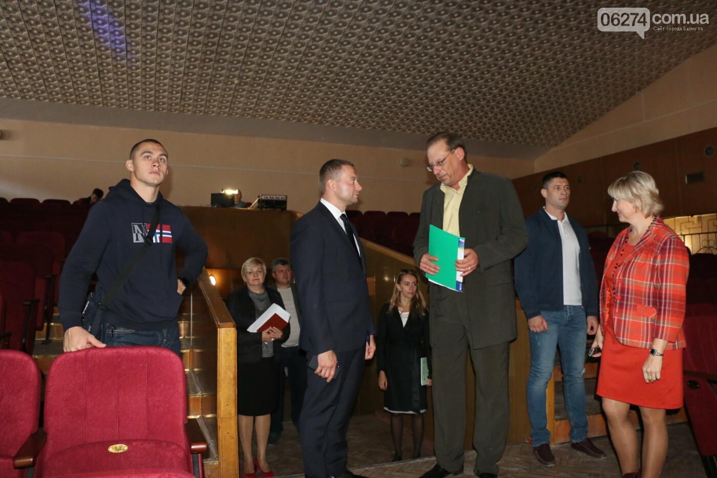 Бахмут с рабочей поездкой посетил Павел Кириленко, фото-28