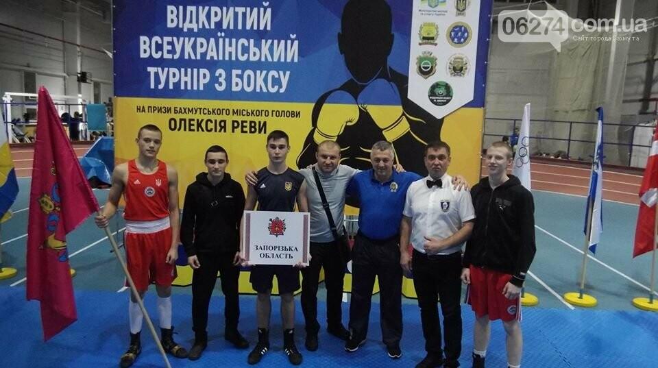 В Бахмуте стартовал турнир по боксу, фото-9