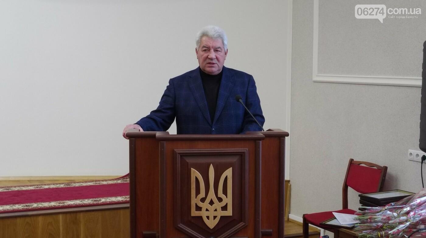В Бахмуте поздравили представителей Вооруженных Сил Украины, фото-4