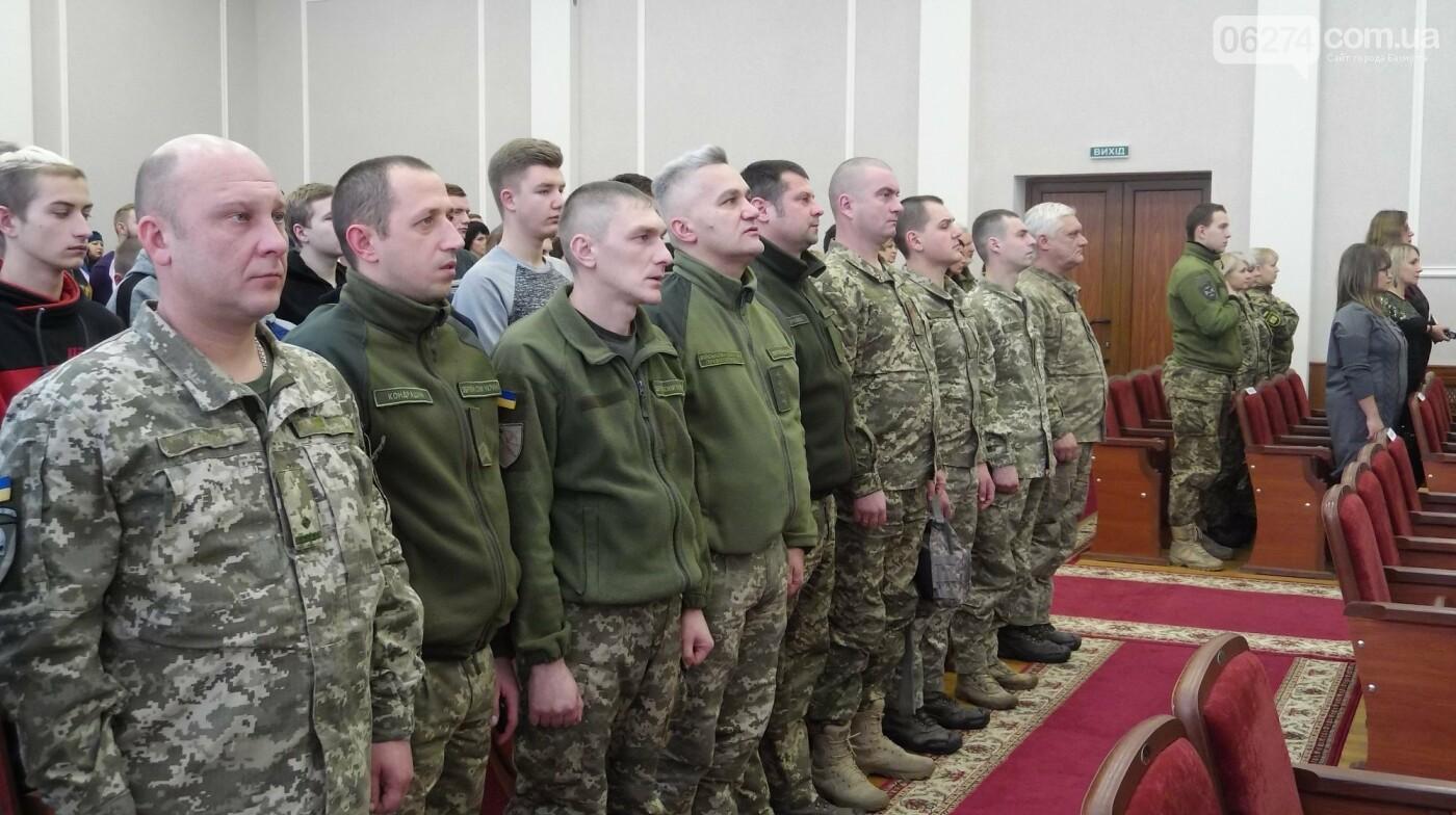В Бахмуте поздравили представителей Вооруженных Сил Украины, фото-11