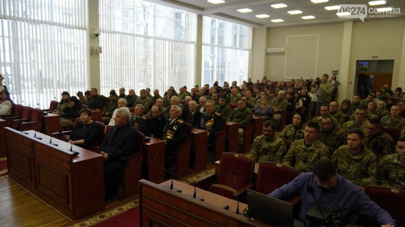 В Бахмуте поздравили представителей Вооруженных Сил Украины, фото-2