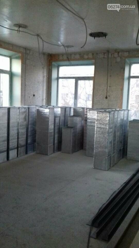 В Бахмуте продолжается реконструкция больницы, фото-5