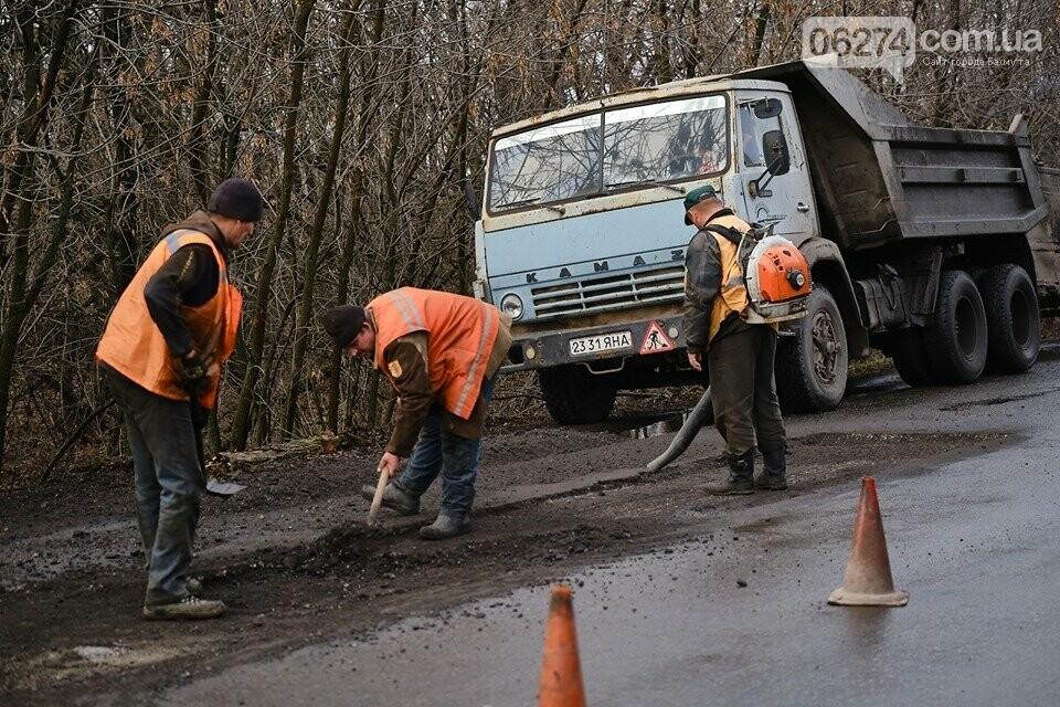 В Бахмутском районе ремонтируют проблемные участки дороги, фото-2