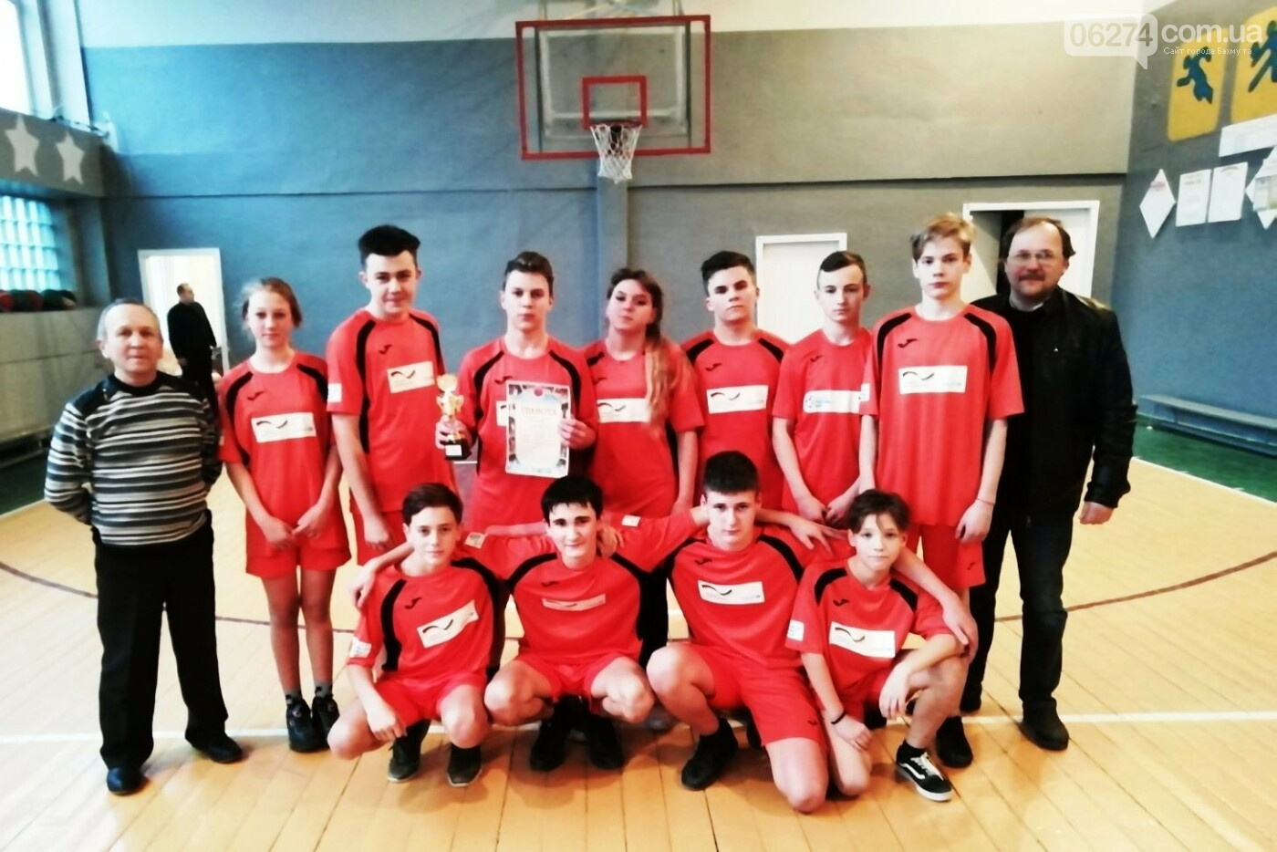 Чемпионы Бахмута по баскетболу, фото-7