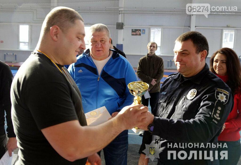 Бахмут принял соревнования по армрестлингу среди полицейских из состава ООС, фото-3