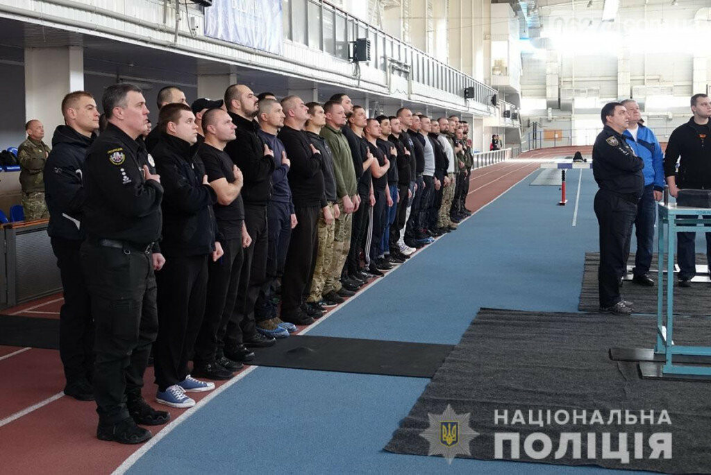 Бахмут принял соревнования по армрестлингу среди полицейских из состава ООС, фото-4