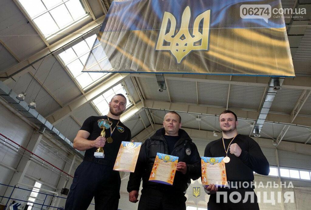 Бахмут принял соревнования по армрестлингу среди полицейских из состава ООС, фото-5