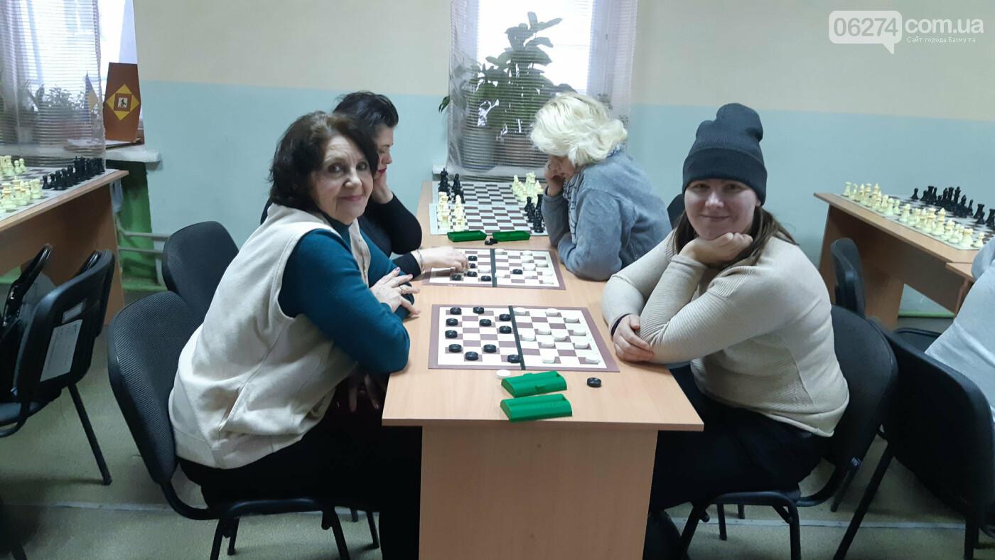 В Бахмуте прошел чемпионат города по шашкам, фото-1