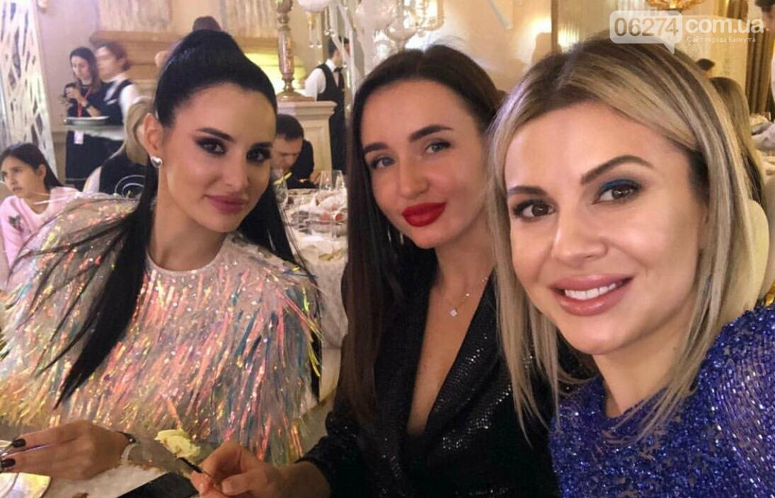 Марина Христенко с подругами