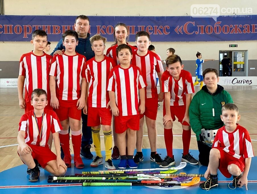 Юные флорболисты Бахмута стали призерами третьего тура Всеукраиснкой лиги в Днепре, фото-8