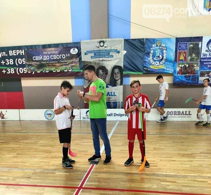 Юные флорболисты Бахмута стали призерами третьего тура Всеукраиснкой лиги в Днепре, фото-4