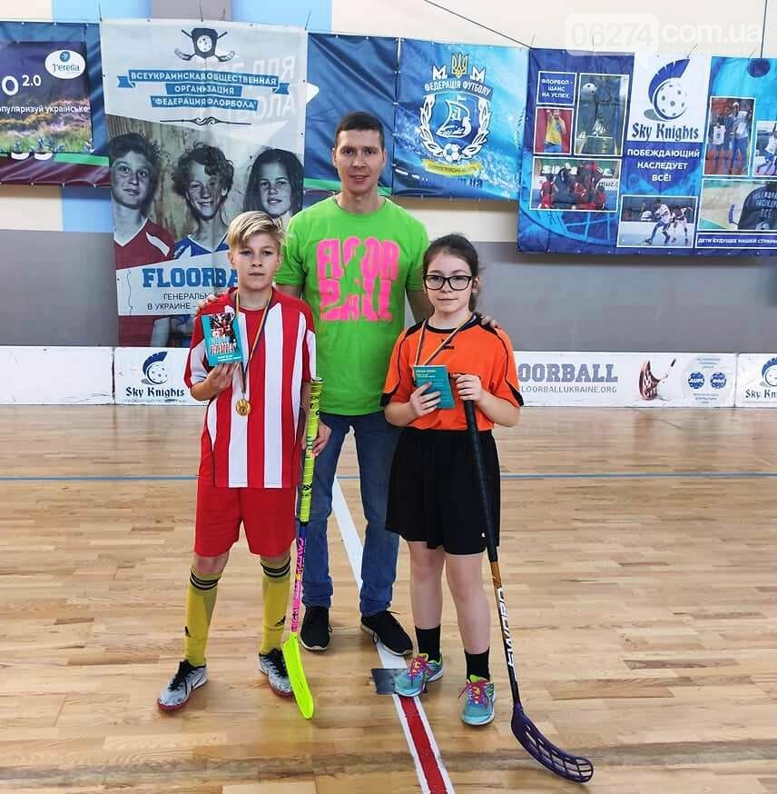 Юные флорболисты Бахмута стали призерами третьего тура Всеукраиснкой лиги в Днепре, фото-7