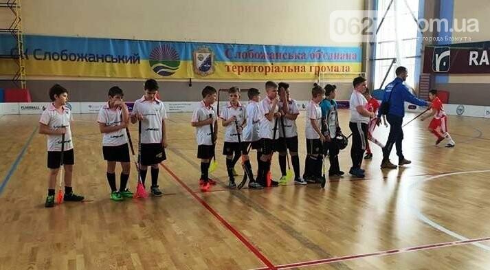 Юные флорболисты Бахмута стали призерами третьего тура Всеукраиснкой лиги в Днепре, фото-3