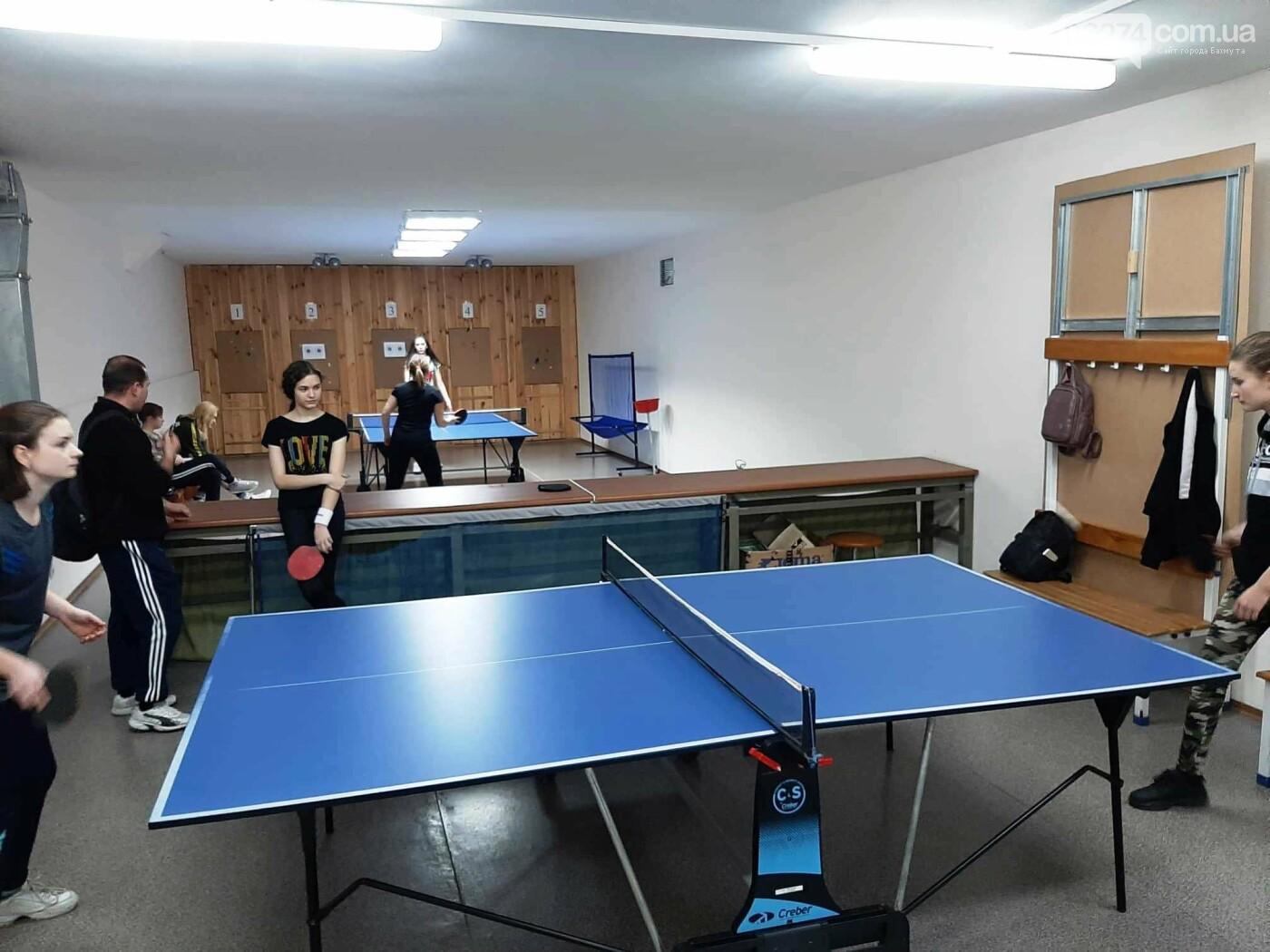 В Бахмуте стартовали соревнования по настольному теннису, фото-1