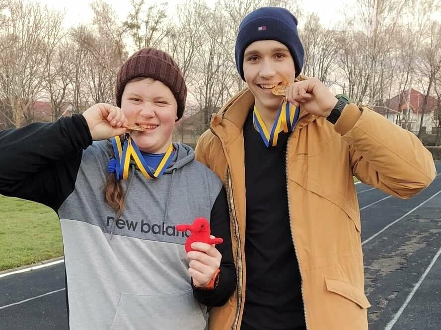Легкоатлеты Бахмута – победители и призеры зимнего чемпионата Украины по метаниям, фото-4