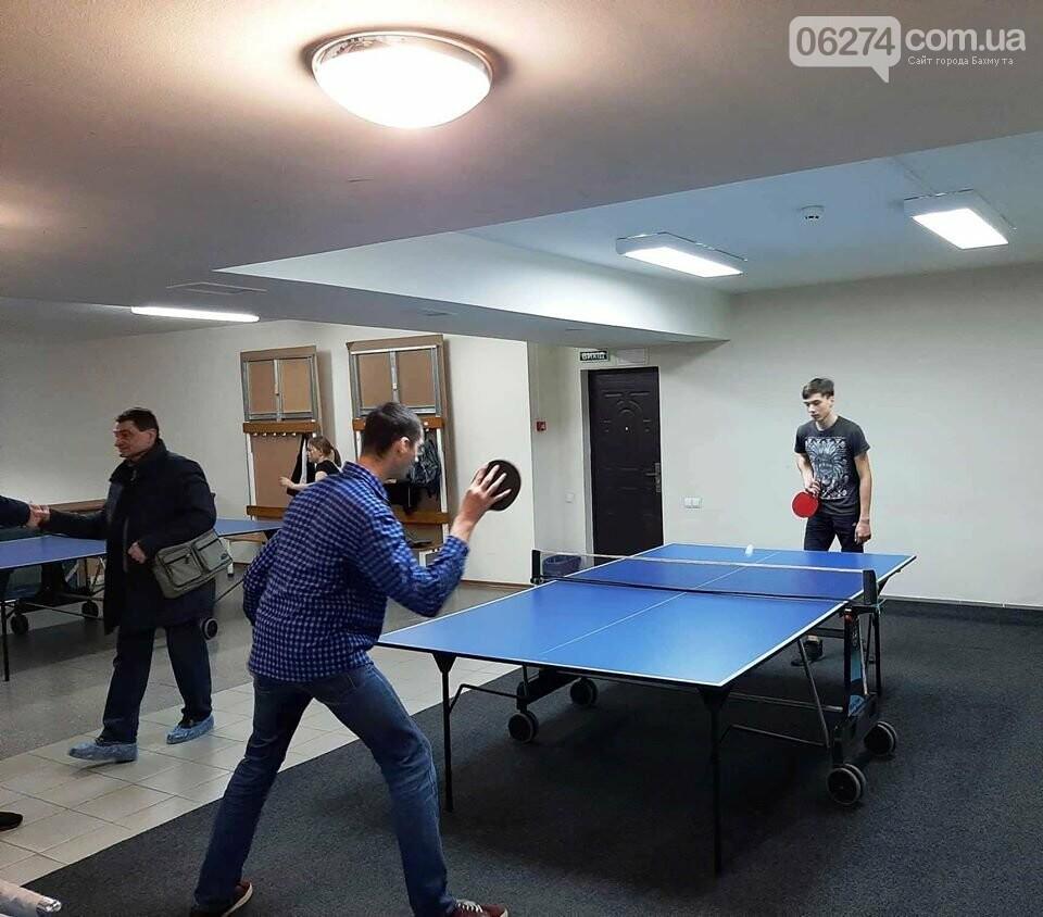 В Бахмуте стартовали соревнования по настольному теннису, фото-4