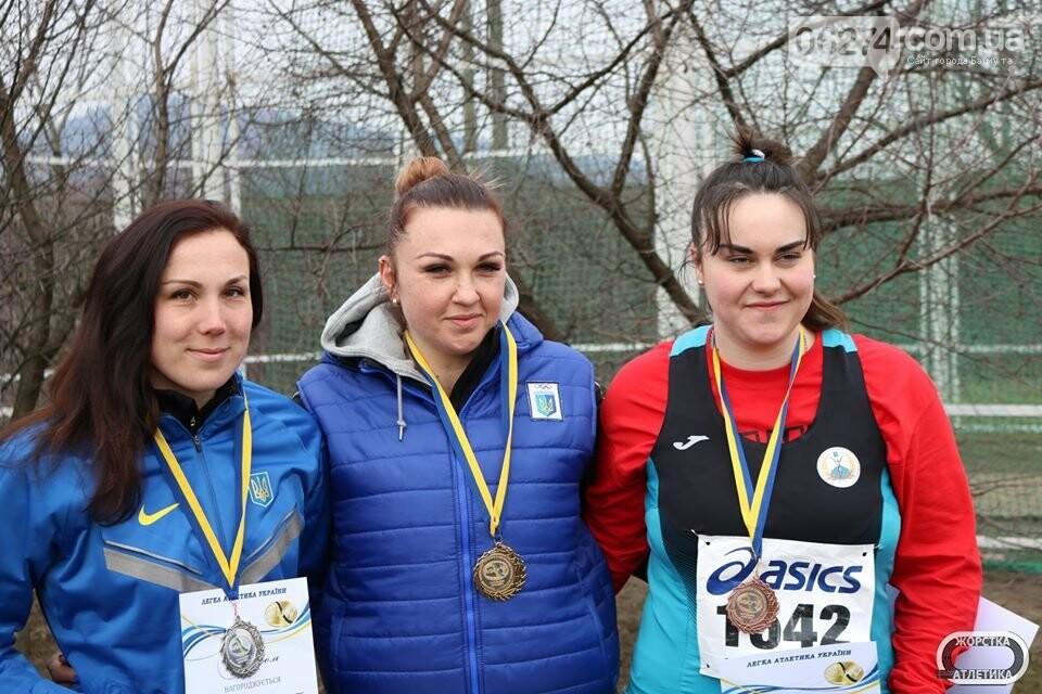 Легкоатлеты Бахмута – победители и призеры зимнего чемпионата Украины по метаниям, фото-7