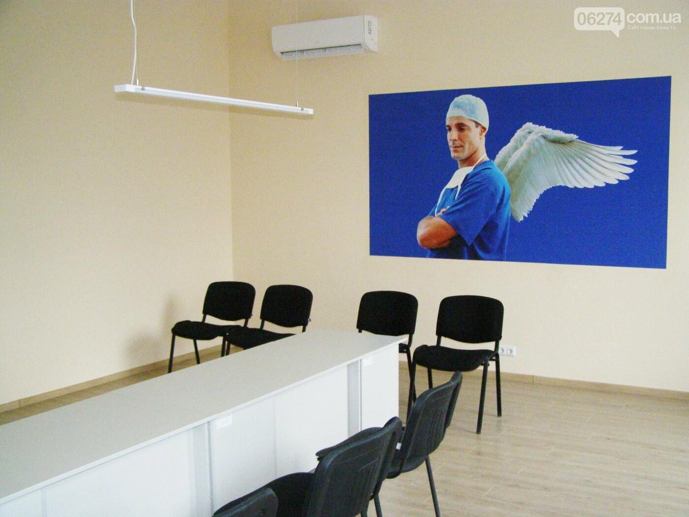 Во врачебно-физкультурном диспансере в Бахмуте завершена реконструкция главного корпуса и общежития, фото-5