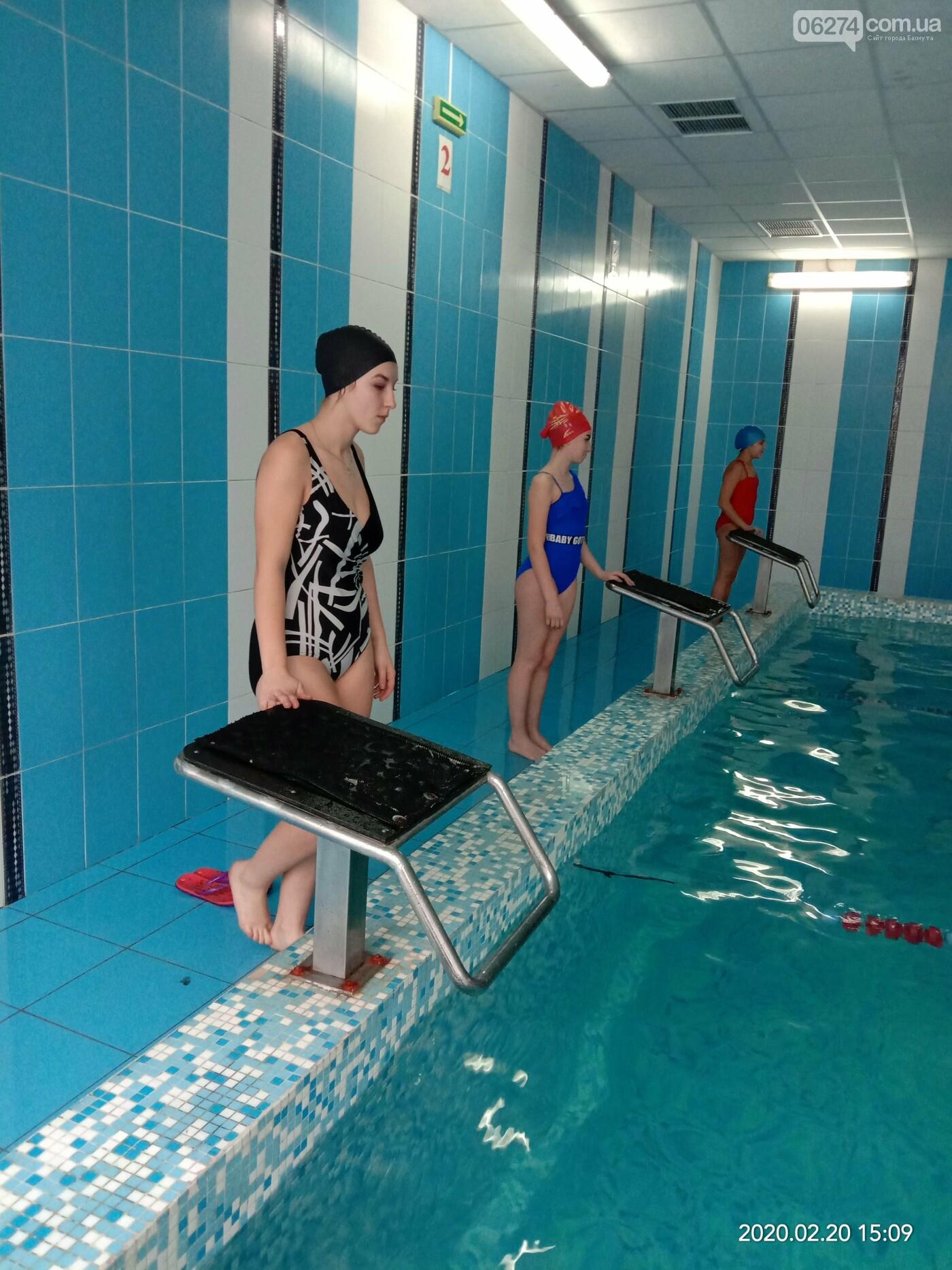 В Бахмуте прошли соревнования по плаванию среди школьников громады, фото-1